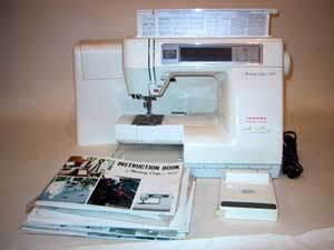 Janome Memory Craft 8000 circa 1990