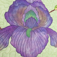 "This is one of the projects in Terrie's book ""Creative Quilts from your Crayon Box"" Part #B1111@ $28.00"