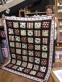 "Carol Allen's quilt ""Thank you David and Kim for serving out Country"""
