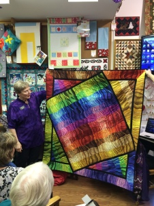 Doreen Huston's Creation Shown at Janome Days with Liz