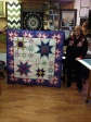 Linda Banasch's Hoopsister's Feather Star creation!