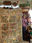 Laundry Basket Quilts: Spring Bouquet Silhouettes by Joan Demmon