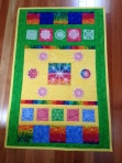"""""""My Happy Quilt"""" made by Trudie Forbes"""